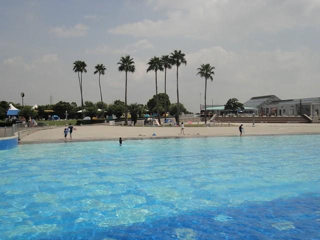名古屋のワイキキ・ビーチ? ~日光川サンビーチ~の写真