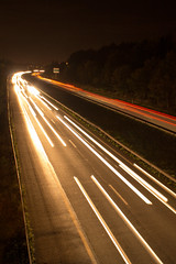 Highway (D'clik Photos (manu.chiarelli)) Tags: road longexposure light lightpainting night canon highway lumiere autoroute nuit lumieres lighted valenciennes poselongue