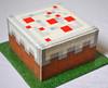 Minecraft Cake (Sweet Pudgy Panda) Tags: cake block minecraft sweetpudgypanda minecraftcake