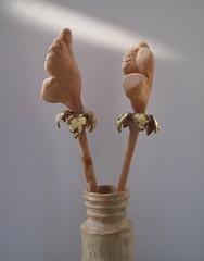 gigli d'oro_tecnica ceramica e oro zecchino