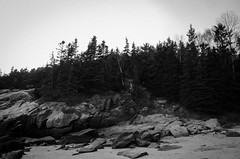 Bar Harbor (sirsolace) Tags: park sea lighthouse mountain lake beach nature rock fog bar island harbor sand cabin desert hole eagle hiking south echo maine trails cliffs cadillac atlantic mount trail national seal shore otter bubble summit thunder acadia