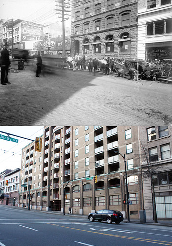 100 Block of West Pender Street - 1914/2013