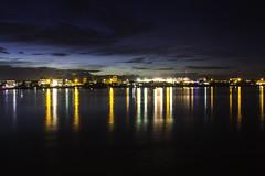 Lights on the Tonle Sap (Keith Kelly) Tags: city sky water night clouds river lights evening asia cambodia seasia southeastasia capital illuminated phnompenh kh aroundtown tonlesap kampuchea