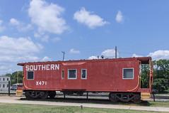 Southern Caboose (jwcjr) Tags: railroad barnesvillega smalltownga southerncaboose caboosebarnesville