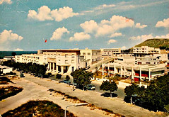 Agadir Post-Earthquake Construction c 1970s Postcard (RRS69) Tags: new streets building town earthquake postcard agadir morocco maroc postal 1970s marruecos marokko reconstruction cartepostale postearthquake