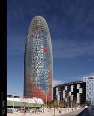 La que toca fer... (Felip Prats) Tags: barcelona catalunya torreagbar barcelonès jeannouvel