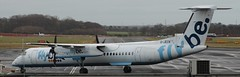 DHC-8: 4120 G-JECN DHC-8Q 402 FlyBe Newcastle Airport (emdjt42) Tags: dash8 newcastleairport flybe gjecn