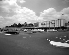 Shopping Mall 1957 (Railroad Jack) Tags: