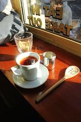Sunday tea (Karolina Bakiera) Tags: light shadow brick london english love kitchen coffee shop grey cafe afternoon natural tea sweet sunday spoon sugar eat lane earl