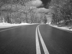 Lake Hope State Park Road (rjhelmes) Tags: statepark winter ohio cold lakehope