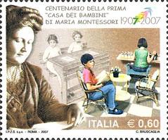 Centenario della Prima Casa dei Bambini di Maria Montessori (www.turismo.marche.it) Tags: lira coins stamps postage lire moneta monete francobollo francobolli mariamontessori casadeibambini