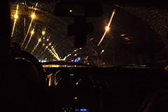 Rainy night, driving all night.. (Arianna Desire) Tags: car rain night photography lights drive nikon bright fresh nikond3100