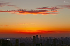 /  the red silk ribbon (blackstation) Tags: china road street city travel blue sunset urban weather skyline architecture clouds canon buildings shanghai cloudy fine sunny viaduct highways cbd     inspiring fineday overcastsky skyscraping   overcastweather sunshineshine