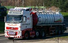VOLVO FH - MURDOCH TRANSPORT Glasgow (scotrailm 63A) Tags: trucks tankers lorries