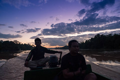 crusing the Kinabatangan - Malaysian Borneo (C. Rich Imagery) Tags: travel cruise portrait people water sunrise river boat nikon asia outdoor wildlife lifestyle adventure safari malaysia borneo destination sabah goldenhour kinabatangan d90 vision:people=099 vision:face=099 vision:sunset=0808 vision:mountain=0771 vision:outdoor=099 vision:clouds=0948 vision:sky=0988 vision:car=0846 vision:ocean=0757