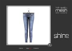 "shine by [ZD] - Mesh ""Didi"" Jeans (shine & sharp by [ZD]) Tags: life fashion by vintage skinny demo for women shine dress place pants mesh market retro hose sl jeans dresses second denim marketplace mp boho mode didi frauen für kleidung kleid weiblich zd womenswear inworld zddesign"