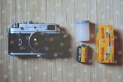 Gotta love film (BigLike Images) Tags: zorki camera film closeup kodak 4 iso pack 200