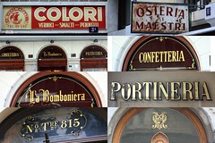 Sign Painting Trieste (Urbanwear) Tags: signs art sign vintage typography paint font lettering fonts trieste goldleaf signpainting signpainters