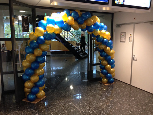 Ballonboog 6m Erasmus Universiteit Rotterdam