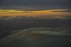 Sunrise near Salt Lake City (Kartik Ramanathan) Tags: sunrise utah aeroplane saltlakecity