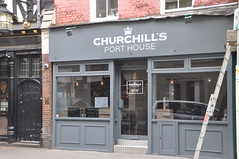 DSC_7697 Soho Streets London Churchill's Port House RIP Sadly this place is now closed (photographer695) Tags: soho streets london churchills port house rip sadly this place is now closed churchillsporthouse