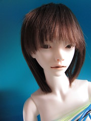 Blue girl IV. (tarengil) Tags: naked doll sd luv bjd nudity act android dollmore zaoll