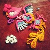 Phoenix clay illustration (I Do Cake Toppers) Tags: cute art illustration square squareformat kawaii sculpey pheonix sculpeyprojects iphoneography christinapatterson instagramapp uploaded:by=instagram artfido