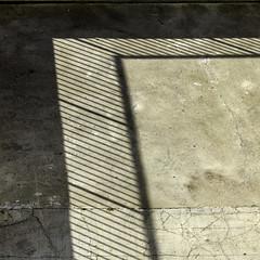 Fence (bratli) Tags: abstract fence concrete edmonton shadows alberta below bratli