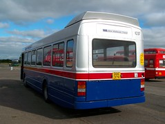 130922-102438 (West Midlands Travel Limited 1037-DOC37V) (Bus Buster UK) Tags: travel red 2 west long transport stripe national passenger limited executive ltd avon stratford upon marston airfield leyland midlands twm 1037 livery showbus 2013 wmt wmpte doc37v