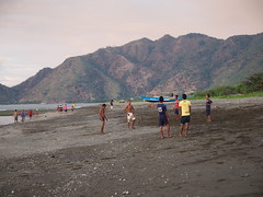 Fotball is played anywhere, also in Dili!