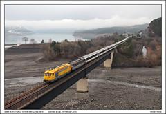 SNCF 67612+67418 - Savines le Lac - Lunea 5819 (14-02-2015) (Vincent-Prins) Tags: sncf 5819 lunea bb67400 savineslelac 67612 67418