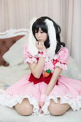 P55_024 (ms09Dom) Tags: cosplay コスプレ 東方project 因幡てゐ 五木あきら itsukiakira