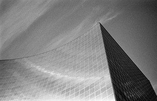grains of sky and building, OPG