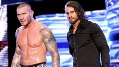 Randy Orton and Seth Rollins (Mrs. Dean Ambrose) Tags: wwe randyorton sethrollins