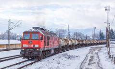 Snowy Acid (BackOnTrack Studios) Tags: winter snow train tank acid rail db bulgaria 232 616 schenker ludmila pirdop umicore aurubis