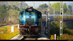 Chamundi Express with KJM Shakti WDG3a (Pramath S.B) Tags: train express chamundi indianrailways bidadi kjmwdg3ashakti kjmwdg3atwins southwesternrailwaysindia