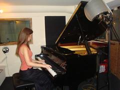 Licia Missori recording @ Extrabeat Studios