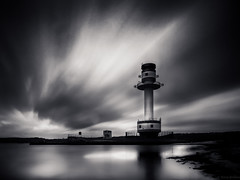 A storm in the Baltic (Atlan130) Tags: longexposure lighthouse germany deutschland baltic ostsee leuchtturm langzeitbelichtung olympusomdem1