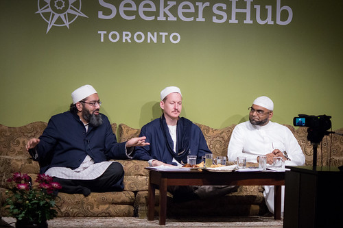 "Shaykh Yahya Rhodus at SeekersHub, Toronto and Seminar Series: Worship, Coffee and The Meaning of Life • <a style=""font-size:0.8em;"" href=""http://www.flickr.com/photos/88425658@N03/26234208494/"" target=""_blank"">View on Flickr</a>"
