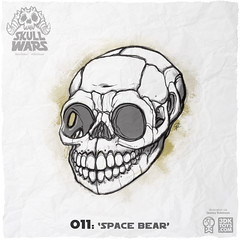 SkullWars 011 SpaceBear 3DKToys.com (3DKitbash.com) Tags: art illustration skulls toy skull sketch starwars drawing cartoon lucas ewok conceptart endor rogueone kickstarter episode6 episodevi spacebear originaltrilogy skullwars 3dkitbash 3dktoys