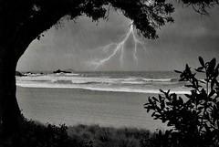 Sunday Storm Sliding (cheezepleaze) Tags: storm rain lightening cyclone iphone hss