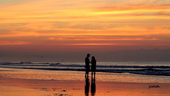so in love (judecat (getting back to nature)) Tags: ocean sunset newjersey sand wildwood