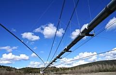 The Trans-Alaska Pipeline (JLS Photography - Alaska) Tags: sky alaska america landscape landscapes outdoor pipeline transalaskapipeline lastfrontier alaskalandscape jlsphotographyalaska