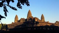 Sunrise over Angkor Wat south East corner (asitrac) Tags: travel light archaeology sunrise scenery asia cambodia southeastasia ngc landmark angkorwat scene unescoworldheritagesite unesco sacredplace kh siemreap iconic archeology worldheritage indochina  patrimoinemondial siemreapprovince khmerempire angkorarcheologicalpark angkorarchaeologicalpark  asitrac