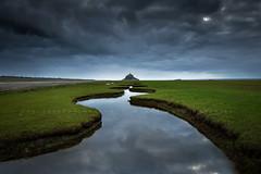 Saint Michel (FredConcha) Tags: france river landscape reflex nikon bretagne montsaintmichel d800 cloues fredconcha