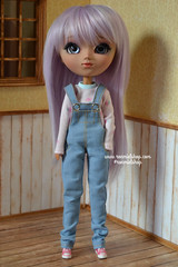 Lili (ronmielshop) Tags: set outfit doll tshirt clothes converse pullip diorama overall leekeworld nahhato leekewig tanskin ronmiel stockbody poisongirldolls ronmielshop