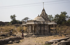 also jain? (Tin-Tin Azure) Tags: world india heritage temple unesco archaeological mata gujarat pavagadh kalika champaner