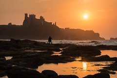 Golden Sunset at Tantallon (mjbryant007) Tags: sunset seascape seascapes seacliff forth firthofforth tantalloncastle tantallon eastlothain