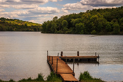 Old Pier 2 (david_sharo) Tags: lake water landscape moraine davidsharo