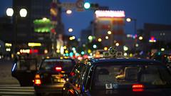 Week 20 - Bokehlicious City Lights @ Fukuoka, Japan (Raystinger) Tags: leica city japan landscape 50mm cityscape nightscape bokeh taxi citylife jp nightlife fukuoka cinematic summilux tenjin defocus nightowl m240 bokehlicious dogwood52 dogwoodweed20